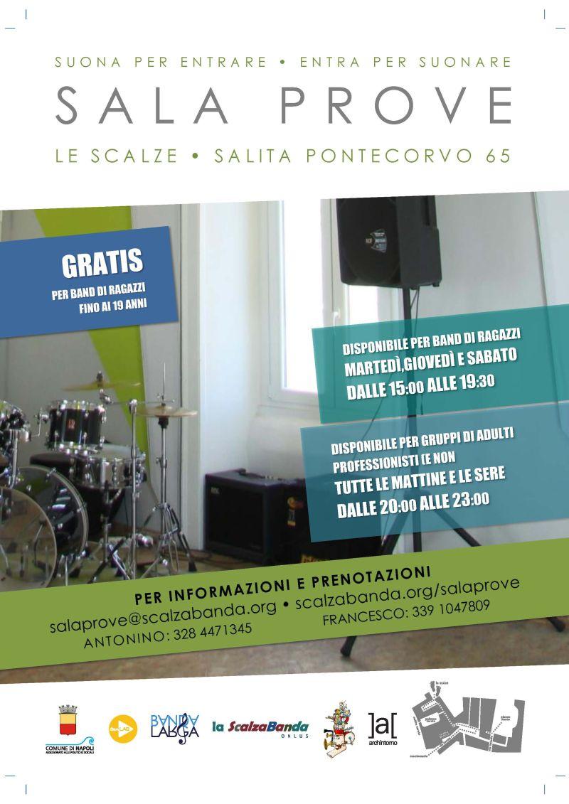 Una sala prove gratuita per band giovanili