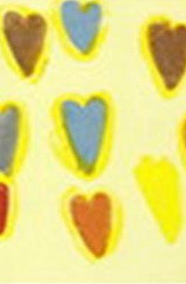 Disegno di cuori colorati