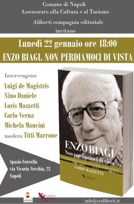 """Presentazione del libro """"Enzo Biagi. Non perdiamoci di vista"""""""