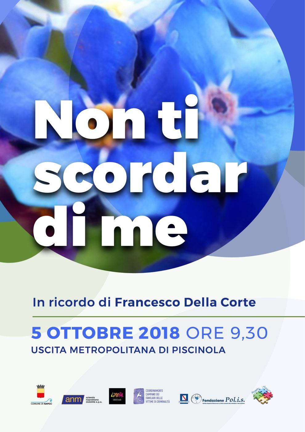 Venerdì 5 ottobre 2018 giornata commemorativa dedicata a Francesco Della Corte