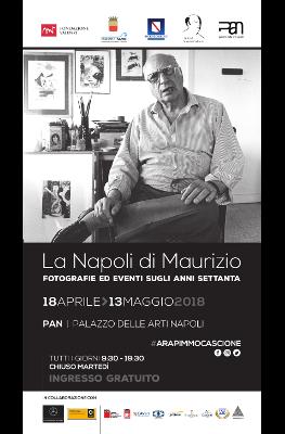 """Mostra fotografica """"La Napoli di Maurizio. Fotografie ed eventi sugli anni Settanta"""""""