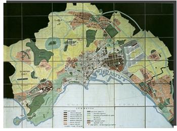 tavola cartografia del 1939