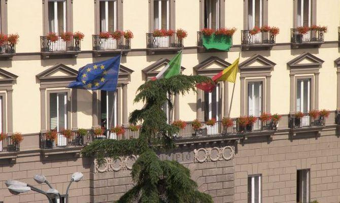 Facciata di Palazzo San Giacomo