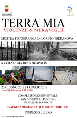 "Mostra fotografica ""TERRA MIA - Violenze & Meraviglie"""