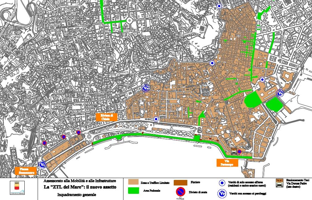 Cartina Ztl Napoli.Laboratorionapoletano Com Napoli Ztl Del Mare Orari E Proroga Fino Al 30 Novembre 2012 Proposte