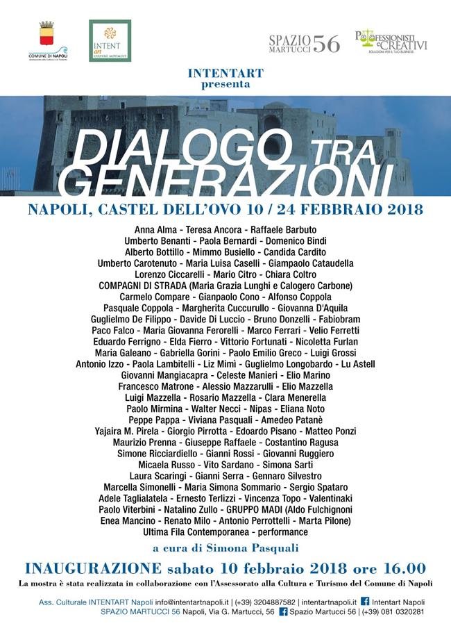 Castel dell'Ovo - Mostra Dialogo tra Generazioni