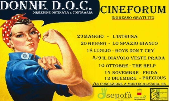 Cineforum Donne Doc - Destinazione Ostinata e Contraria