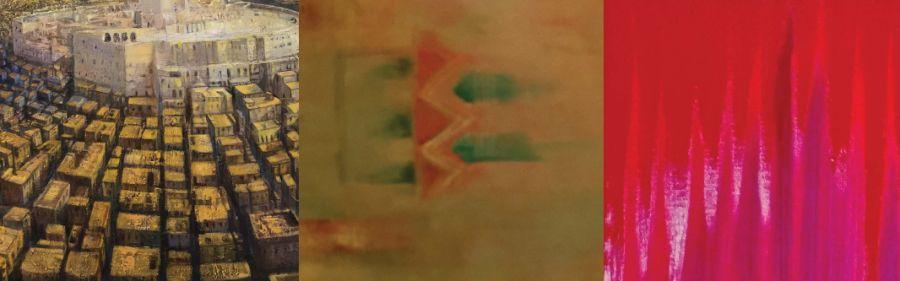 Alcuni dipinti della mostra