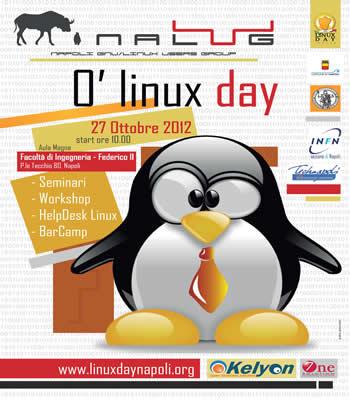 Locandina Linux Day 2012