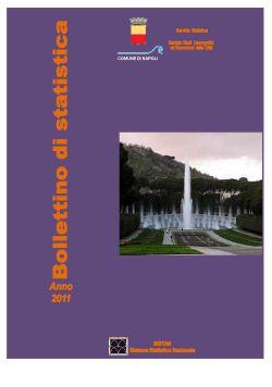copertina bollettino di statistica 2011