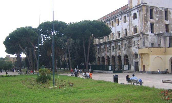 Una foto dell'ex ospedale militare