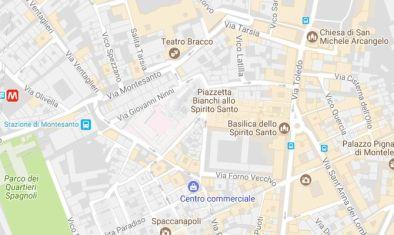 Mappa google dei dispositivi di traffico