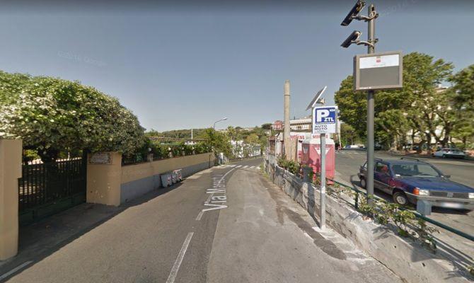 Un'immagine di via Marechiaro da Google Maps