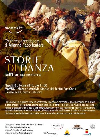 Storie di danza nell'Europa moderna