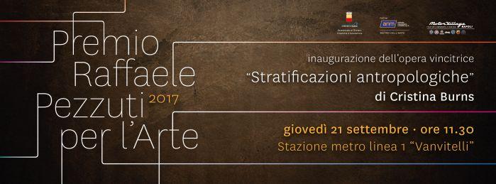 Inaugurazione dell'opera vincitrice della seconda edizione del Premio Pezzuti