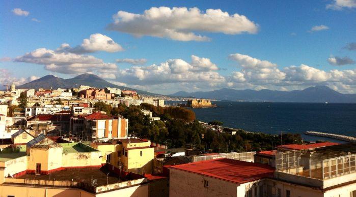 Panorama della città di Napoli
