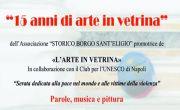 15 anni di Arte in Vetrina