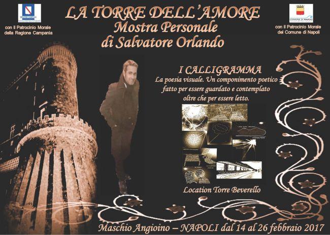 """Castel Nuovo - Mostra """"La Torre dell'Amore"""" di Salvatore Orlando"""