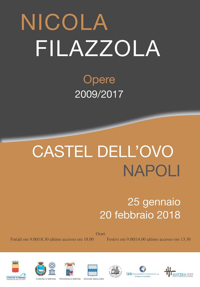 Castel dell'Ovo - Mostra di Nicola Filazzola