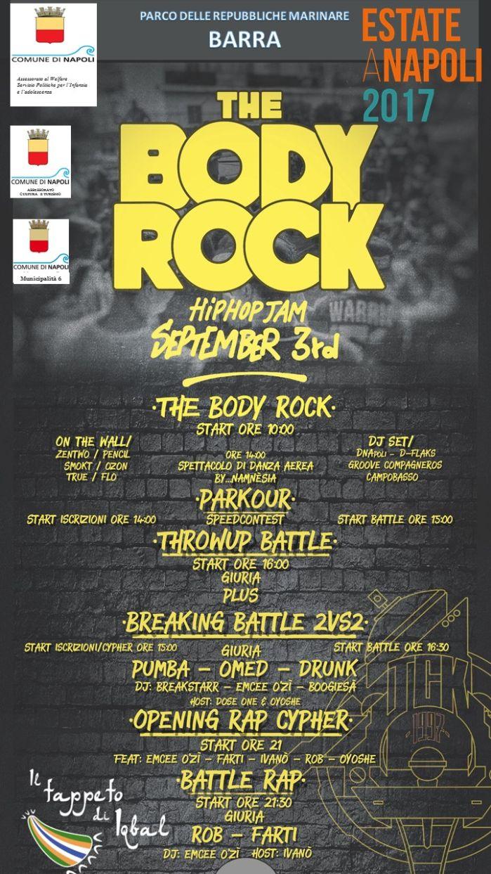 The Body Rock - Per la riqualificazione degli spazi comuni della periferia Est di Napoli