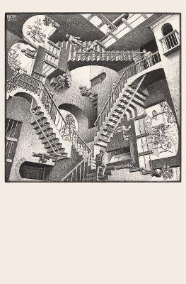 Mc Escher, relatività, 1953, litografia