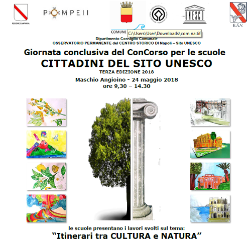 """Giornata conclusiva del Concorso """"Cittadini del sito UNESCO"""""""