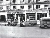 Foto d'epoca della vetreria