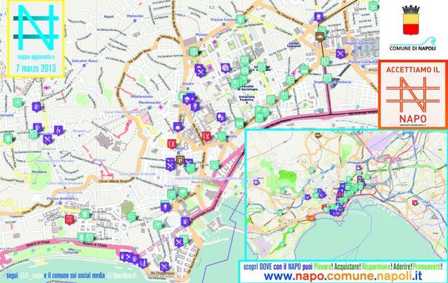 Cartina Turistica Napoli Centro.Comune Di Napoli Scarica E Stampa La Cartina Del Napo