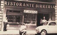 Foto d'epoca della pizzeria