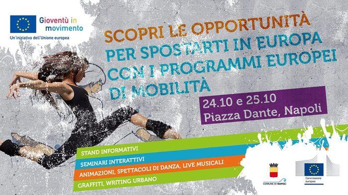 24-25 ottobre Youth on the Move - Piazza Dante, Napoli