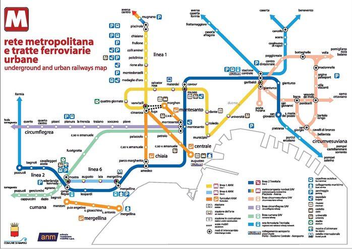 Mappa dei trasporti