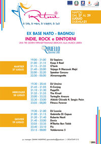 Programma Indie, rock e dintorni